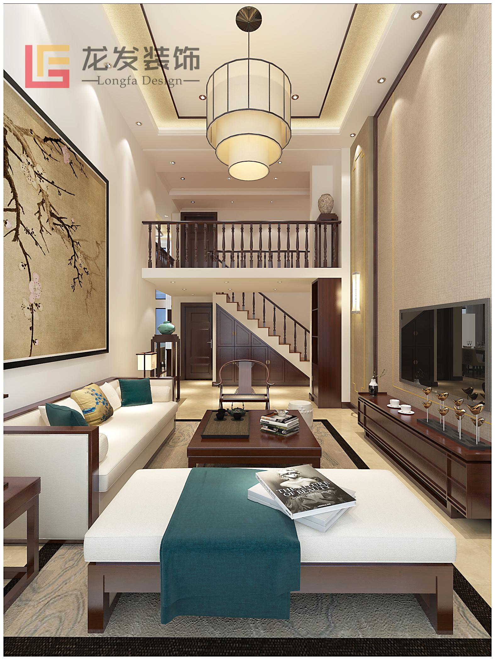 天都首郡 loft 新中式风格图片