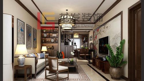 万贯家园 三室 新中式风格