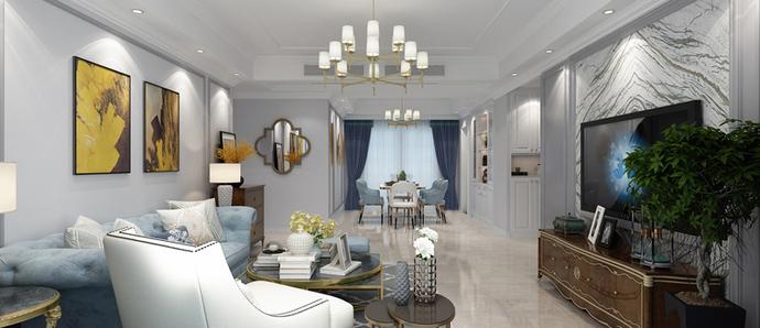 颐和观邸 五室 美式风格
