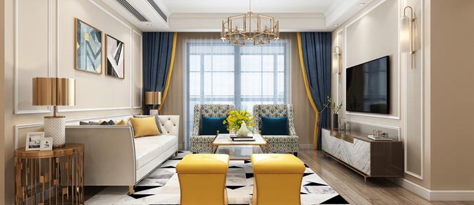 新安印象 三室 美式风格