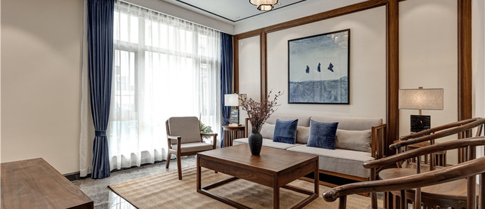 枫林丽景 260平 新中式风格